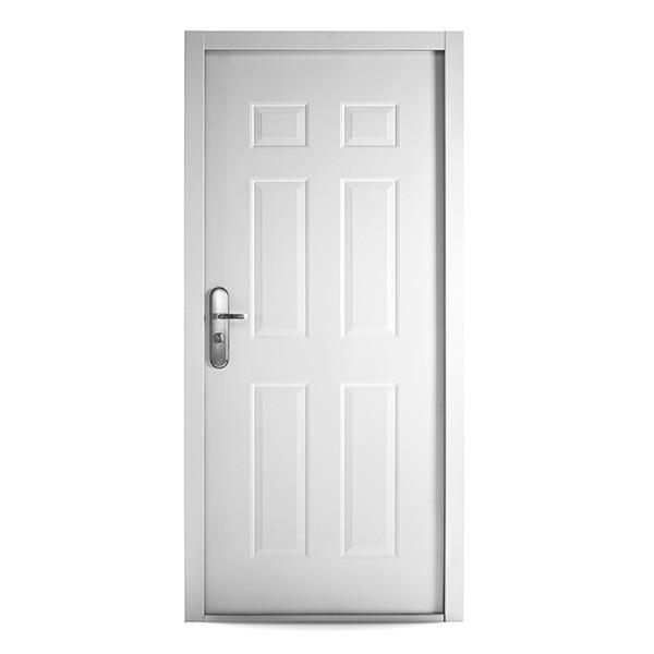 Domestic 6 Panel Steel Security Fire Doors