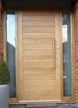 Bespoke Door With Side Panels