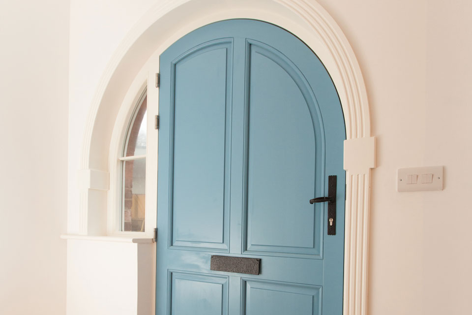 Bespoke Enterance Door Jersey