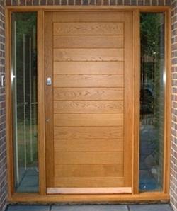 Custom Oak Door