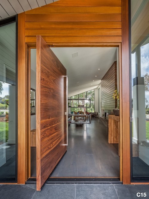 Timber Pivot Door