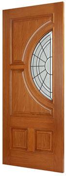 Exterior Athens Oak Door
