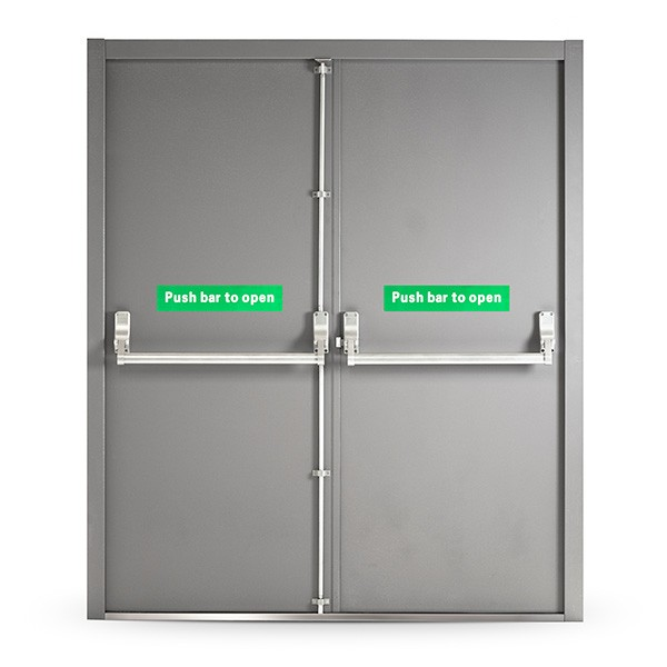 Fire Exit Door with Panic Bar