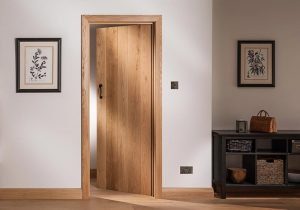 Ledge Braced Oak Door
