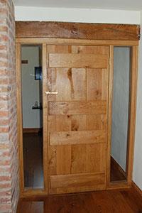 Oak Farmhouse Door Jersey