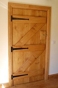 Internal Oak Barn Door