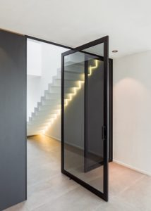 Glass Internal Pivot Door