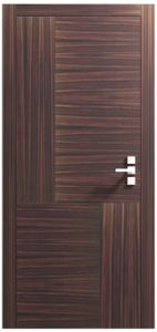 Abstract Design Dark Oak Internal Door