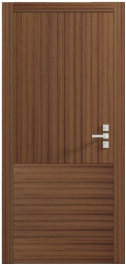 Shifting Pattern Oak Internal Door