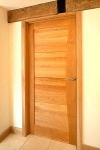 Solid Oak Interior Door