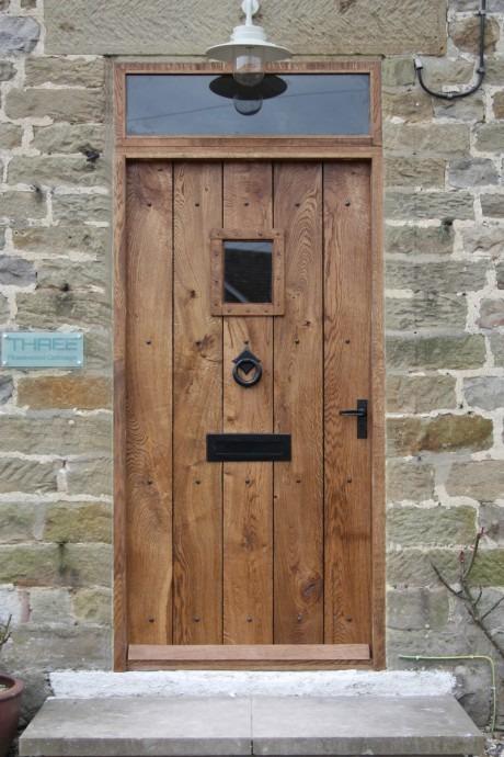 Cottage Style Oak Front Door